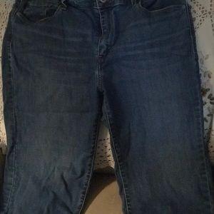 Levi's women's denim shorts size 16